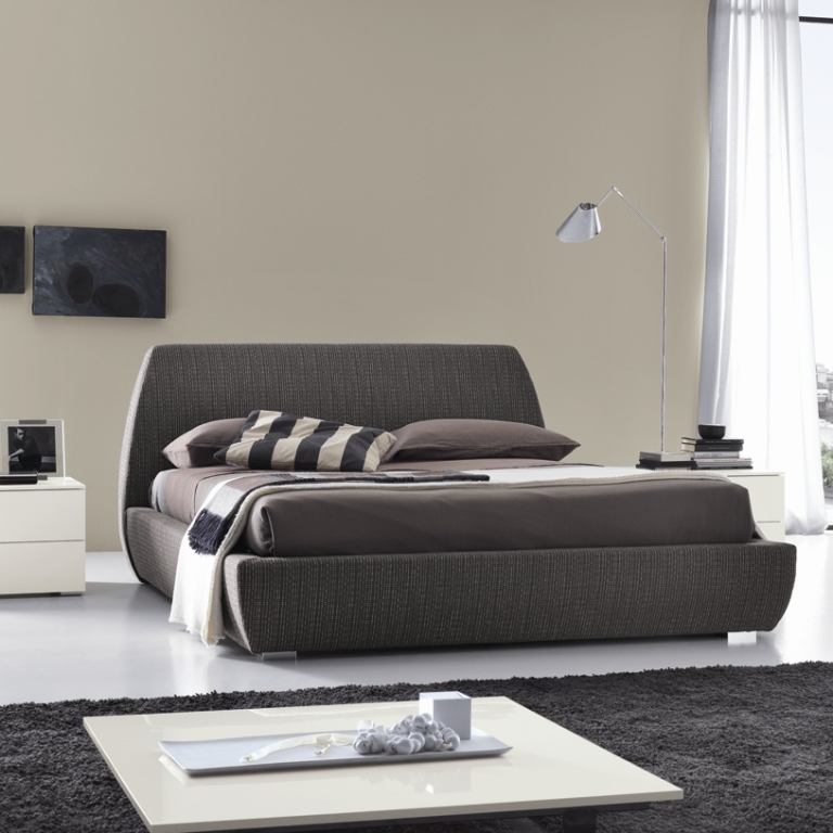 Mellow modern upholstered bed optional storage